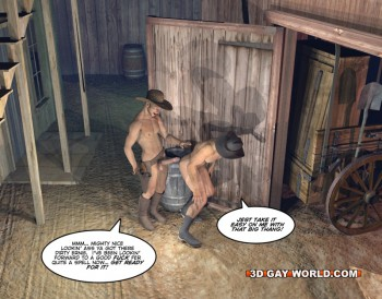 3d gay cowboys ass fucking