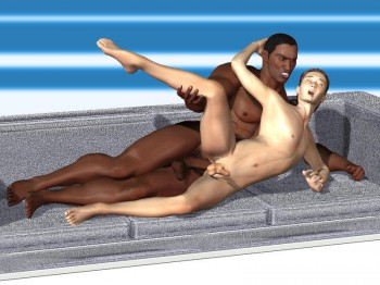 interracial 3d gay sex